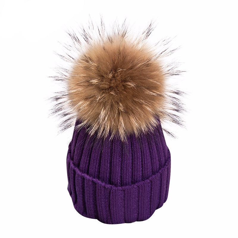 Knitted Bobble Beanie - BEHIND HEMLINES - 3