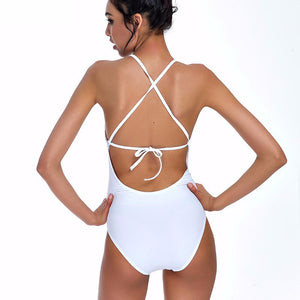 Laced Center Monokini - BEHIND HEMLINES