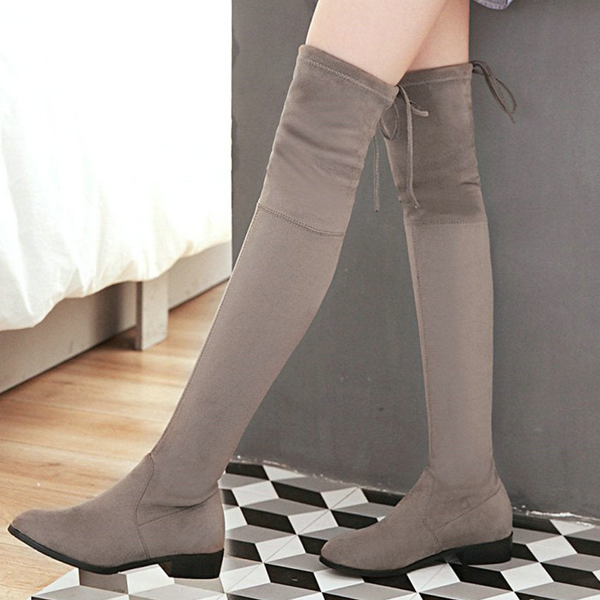 Over-The-Knee Flat Boots