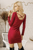 Basic Bodycon Ribbed Dress
