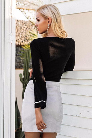 Classic Work Knit Top - BEHIND HEMLINES