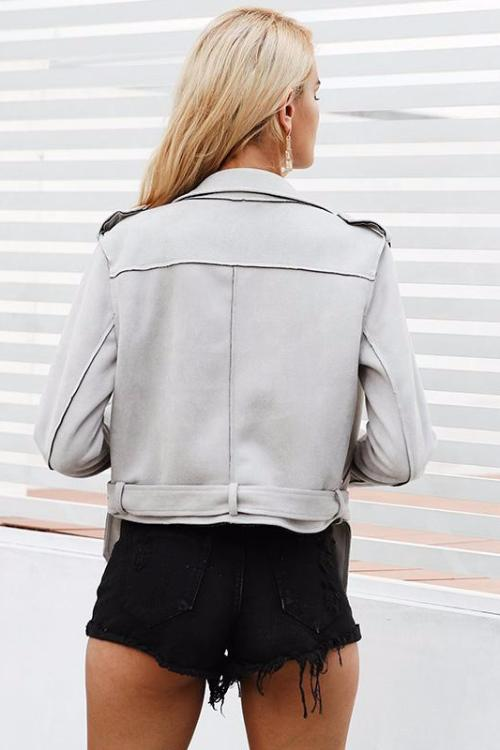 Keira's Faux Leather Jacket