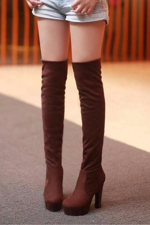 Aora's Over-the-knee Boots