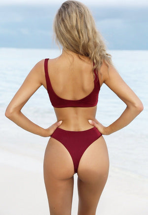 Amara's Two-Piece Swimsuit - BEHIND HEMLINES