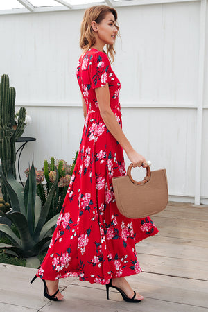 Kylie's Floral Maxi Dress - BEHIND HEMLINES