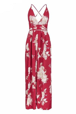 Red Mona Maxi Dress - BEHIND HEMLINES