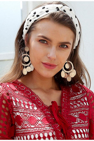 Vintage Circular Earrings