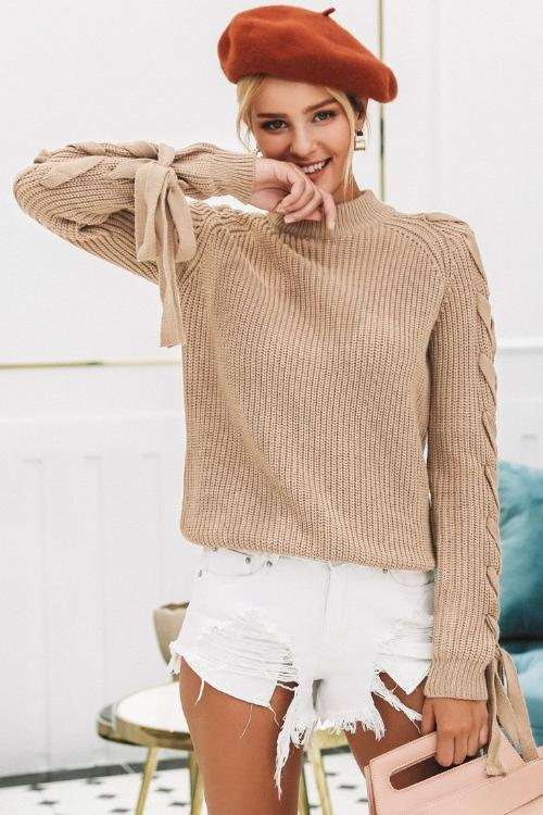 Andrea's Knitted Pullover