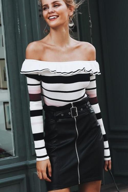 Harriet's Off Shoulder Sweater