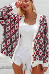 Berry's Heart Print Cardigan