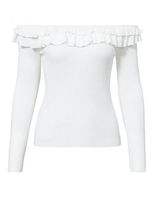 Teresa's Off Shoulder Sweater