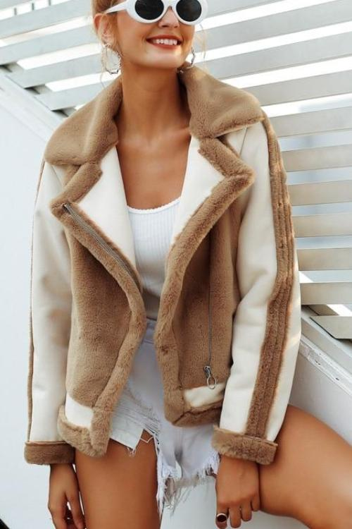 Jackie's Fur Jacket