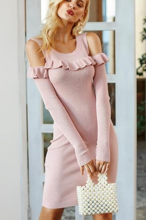 Kathleen's Sexy Sweater Dress