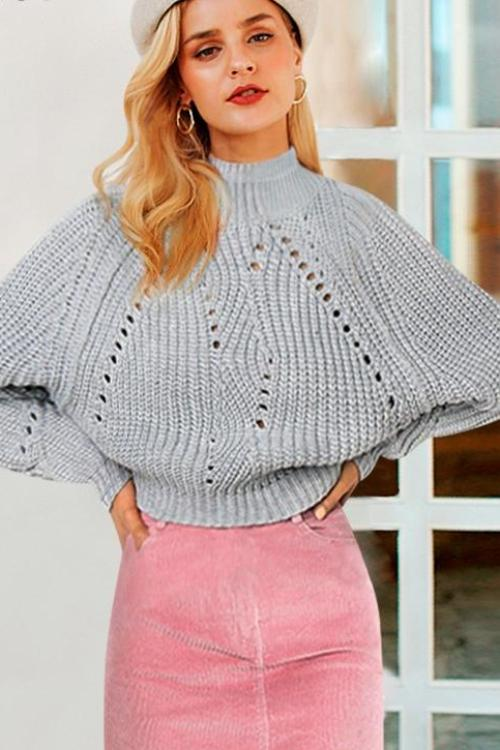 Deanna's Knitted Turtleneck Sweater