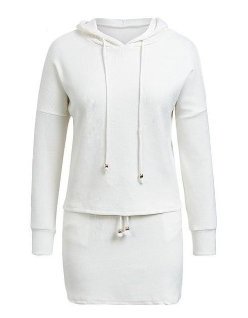 Sherry's Lace Up Hoodie