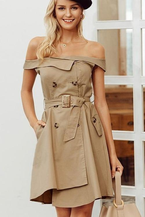 Kelly's Off Shoulder Dress