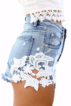 Lace Summer Shorts - BEHIND HEMLINES
