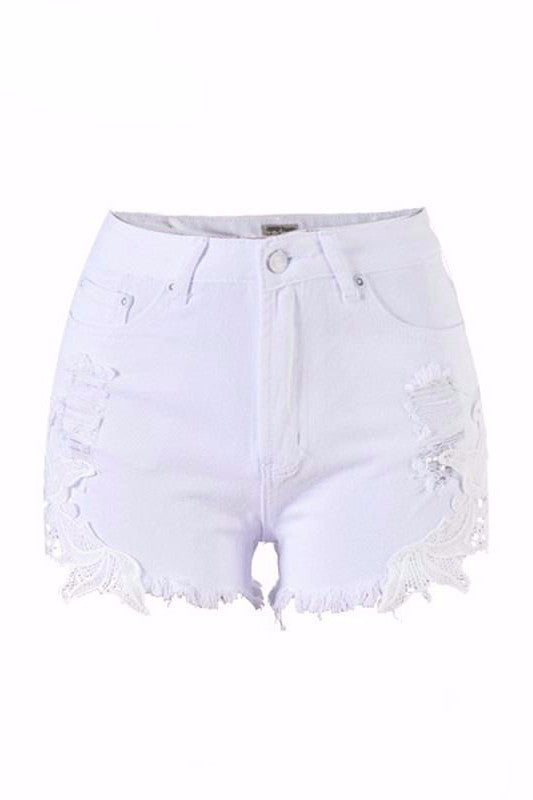 Lace Summer Shorts - BEHIND HEMLINES - 6