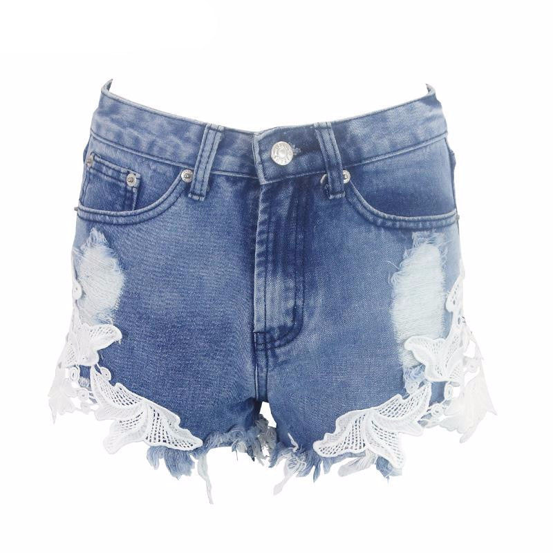 Lace Summer Shorts - BEHIND HEMLINES - 3