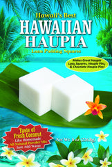 (3 BAGS - EXTRA VALUE PACK, $6.99 EACH) HAUPIA MIX (Coconut Pudding Luau Squares)