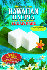 (3 BAGS - EXTRA VALUE PACK, $6.99 EACH) SUGAR FREE HAUPIA MIX (Coconut Pudding Luau Squares)