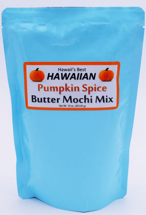 (3 BAGS - EXTRA VALUE PACK, $6.99 EACH) PUMPKIN SPICE BUTTER MOCHI MIX, SPECIALTY ITEM, LIMITED INVENTORY.