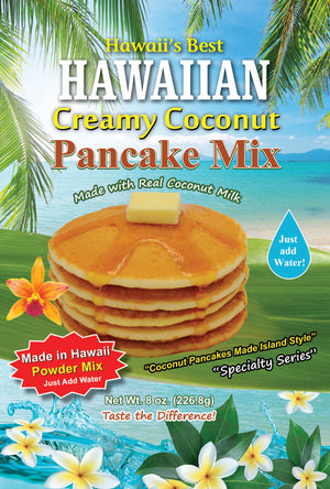 (5 BAGS - EXTRA VALUE PACK, $5.99 EACH) CREAMY COCONUT PANCAKE MIX