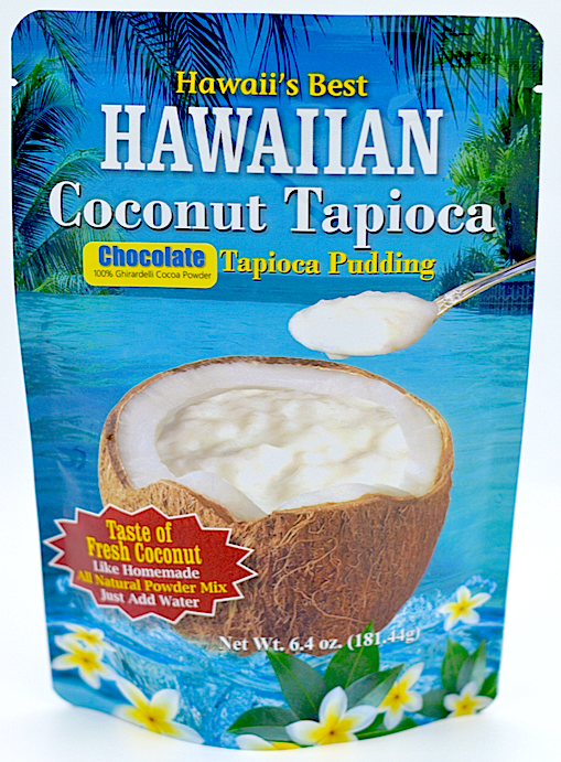 (1 BAG) CHOCOLATE COCONUT TAPIOCA MIX, Specialty Item- Limited Time Only, Made with 100% Ghirardelli Cocoa, Gluten Free, Kraft Minute Tapioca already inside, Just add water!