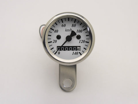 Speedo, 48mm, White Face, Polished Body
