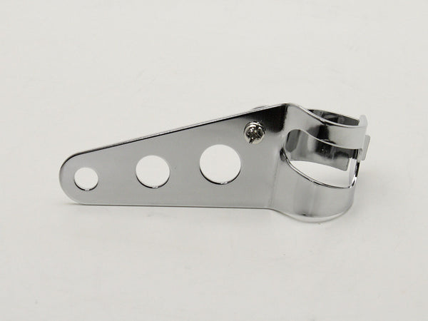 Headlight Brackets, Cafe Racer Style, Chrome