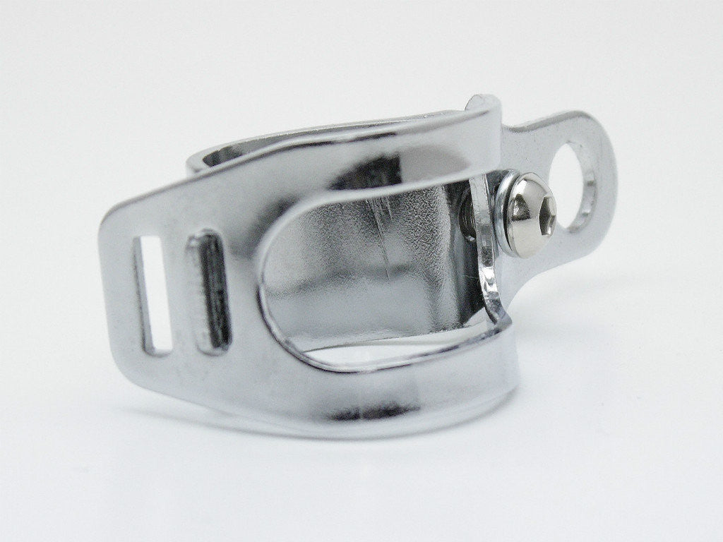 Indicator Brackets, Clamp-type, Chrome