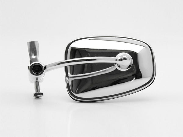 Mirror, Bar End, Continental, Chrome