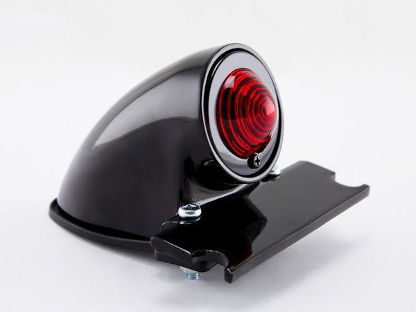 Tail Light, Sparto, Pointed Lens, Black