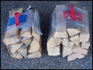 Bundled Firewood for campgrounds.