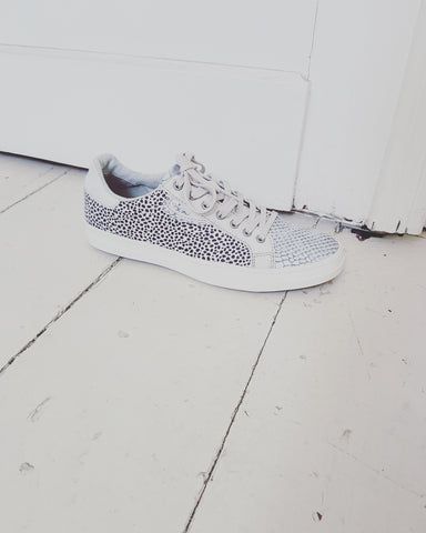 Sneakers Silver Dots