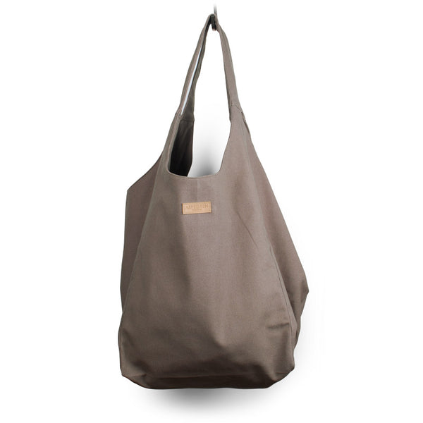 Schultertasche Mano, taupe