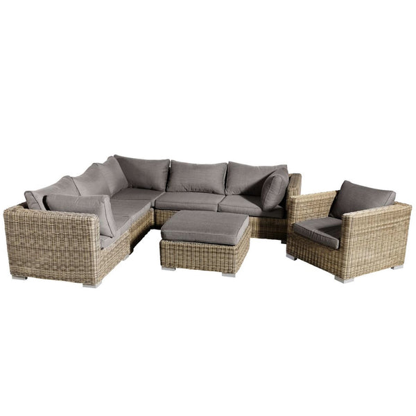 Lounge Set Lazise braun