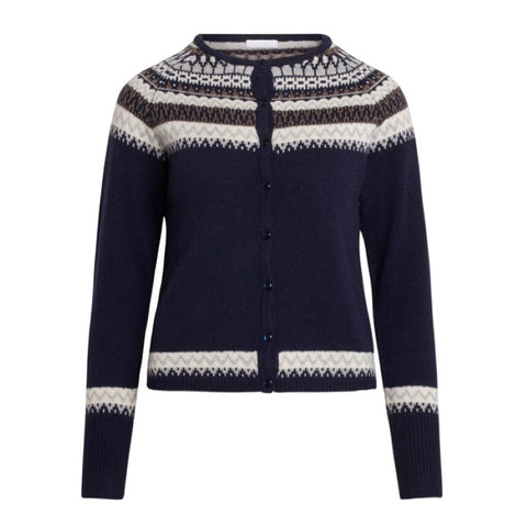Strickjacke Carah navy