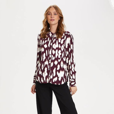 Blusenshirt Christy bordeaux
