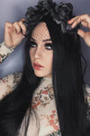 "30"" Jet Black Lace Front Synthetic Hair Wig 20151 - StarLite Hair"