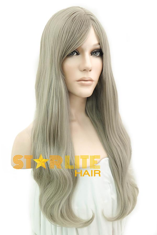 "22"" Ash Blonde Fashion Synthetic Wig 50091 - StarLite Hair"