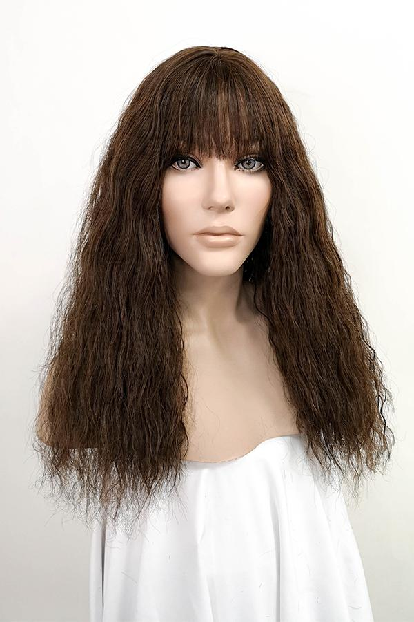 "18"" Mixed Brunette Fashion Synthetic Wig 40043"