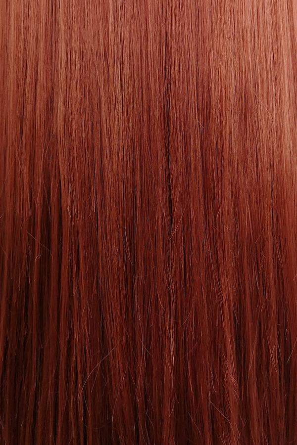 "24"" Reddish Brown Lace Front Synthetic Wig 20006 - StarLite Hair"