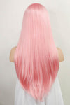 "24"" Pink Lace Front Synthetic Wig 20274 - StarLite Hair"