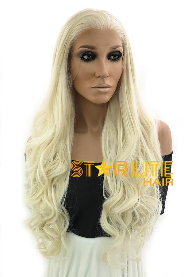 "26"" Light Blonde Lace Front Synthetic Wig 10263 - StarLite Hair"