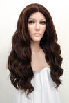 "26"" Brunette Fashion Synthetic Hair Wig 50013"