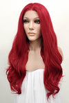 "24"" Red Lace Front Synthetic Hair Wig 20075 - StarLite Hair"