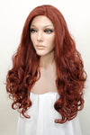 "24"" Auburn Lace Front Synthetic Hair Wig 20230 - StarLite Hair"