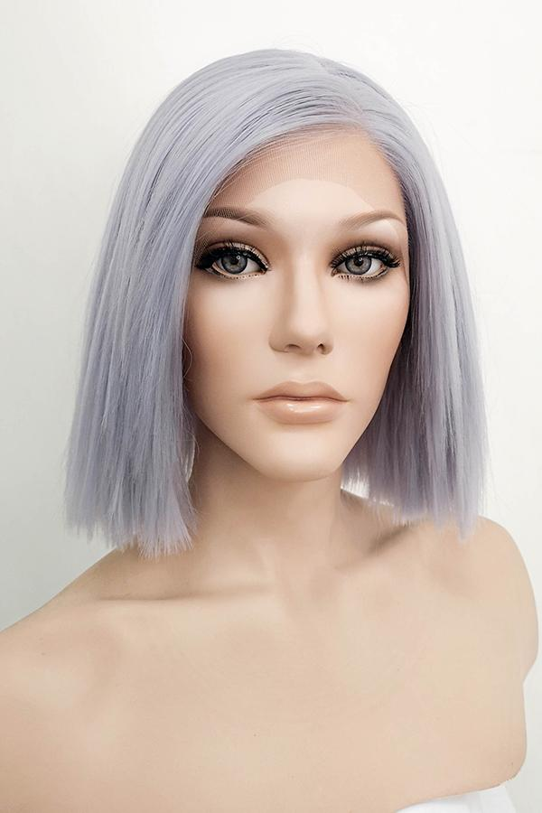 "10"" Pastel Lilac Lace Front Synthetic Hair Wig 10289 - StarLite Hair"