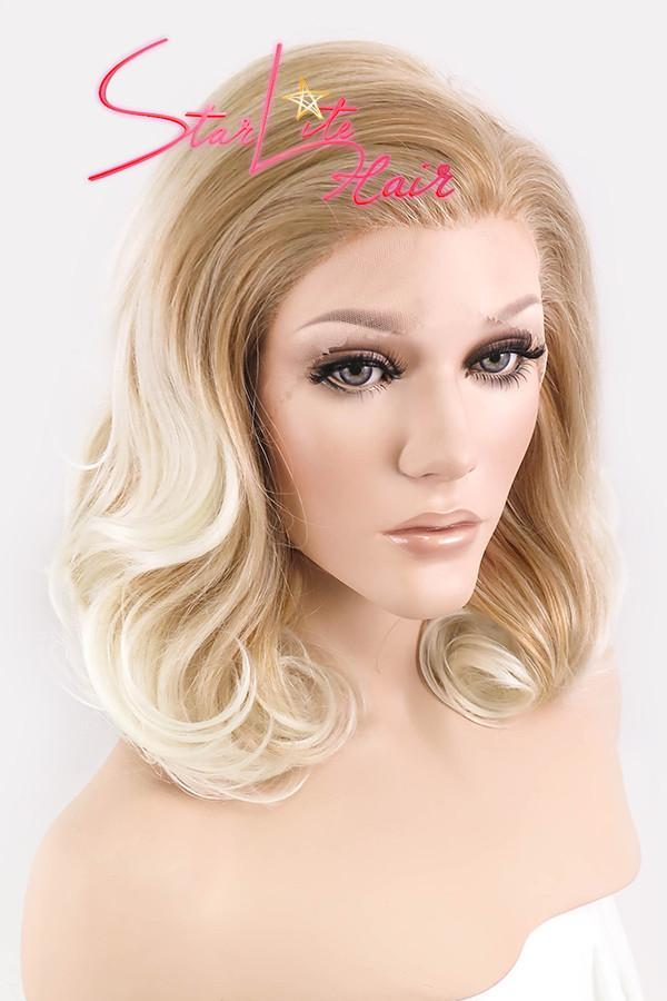 "16"" Mixed Blonde Lace Front Synthetic Wig 20103 - StarLite Hair"